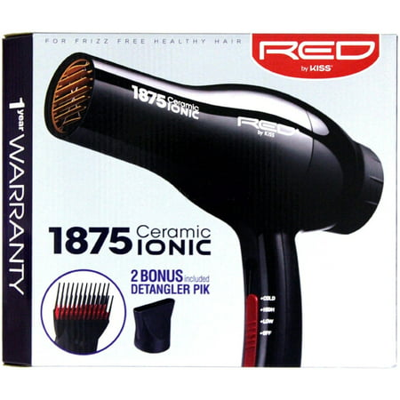 KISS Red Ionic Blow 1875 Watt Dryer 1 ea