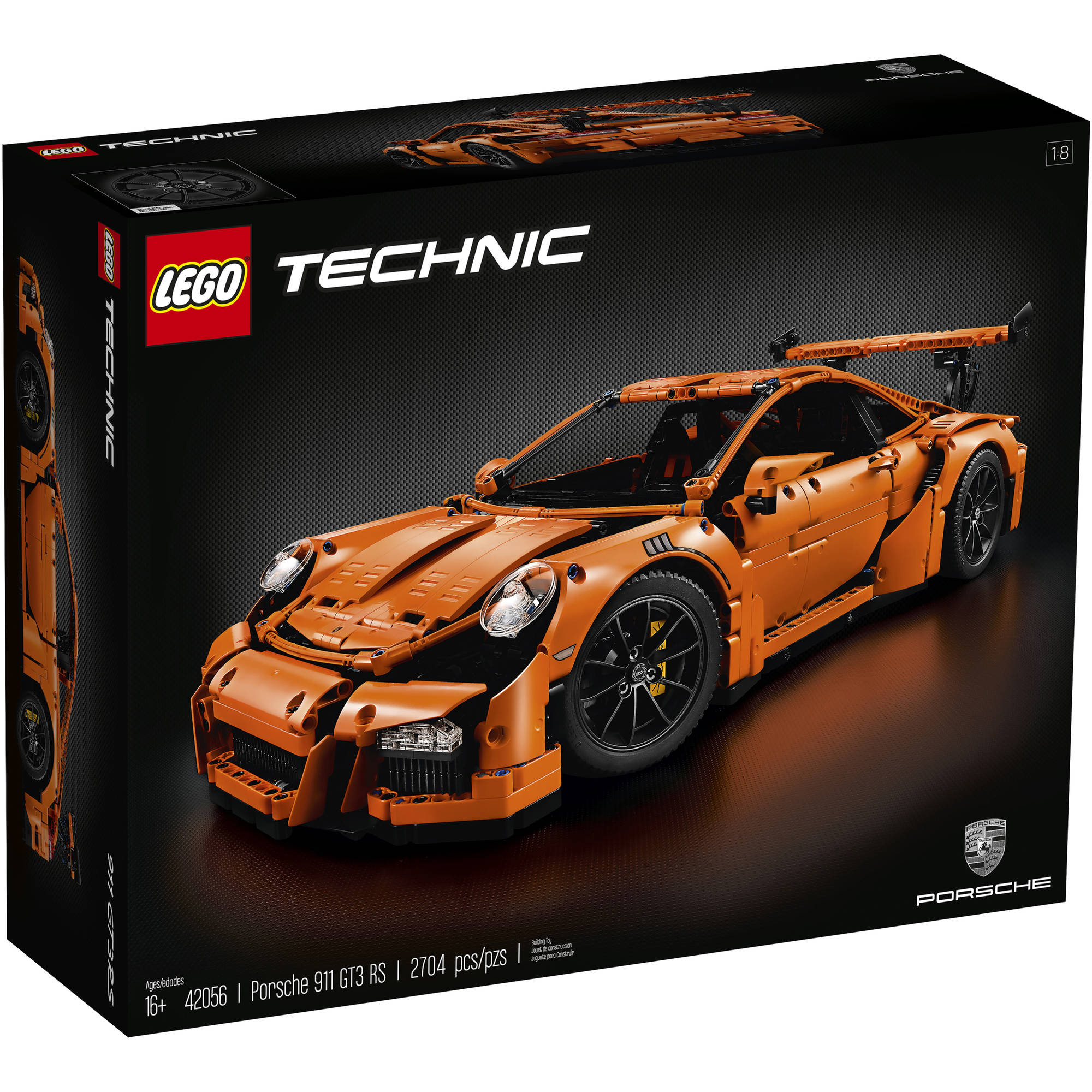 Lego Technic Porsche 911 GT3 RS, 42056 by LEGO Systems, Inc.