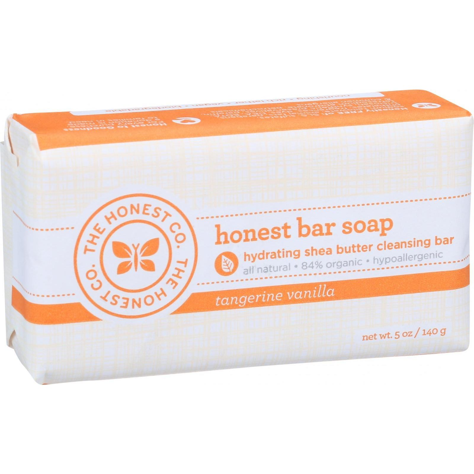 The Honest Company Honest Bar Soap - Tangerine Vanilla - 5 oz
