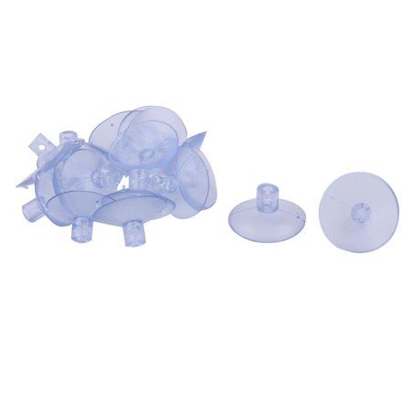 Office Rubber Wall Window Glass Board Sucker Pad Suction Cups 1.6 Inch Dia -