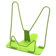 New Arrival Bookends Portable Foldable Adjustable Bookend Stand Reading Book Stand Document Holder Base Reading Book Holder green