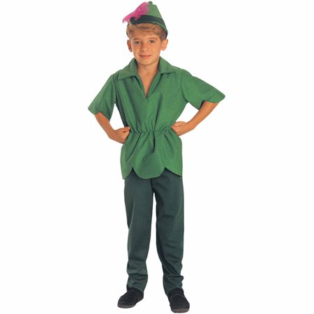 Peter Pan with Hat Child Halloween Costume - Best Halloween Costume Themes For Work