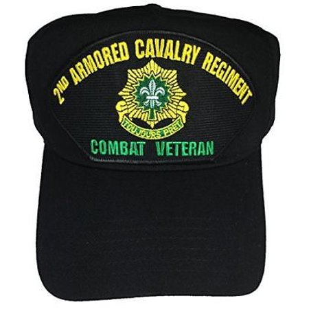 US ARMY 2ND SECOND ARMORED CAVALRY REGIMENT ACR COMBAT VETERAN HAT TOUJOURS  PRET