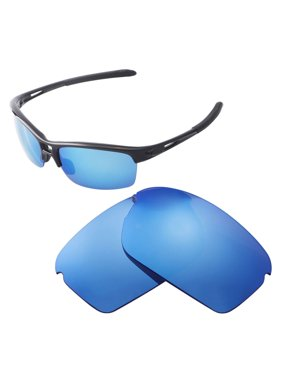 3721671f9d Product Image Walleva Ice Blue Polarized Replacement Lenses for Oakley RPM  Squared Sunglasses