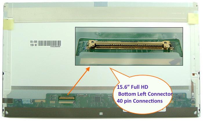 """LENOVO THINKPAD T530 LAPTOP LED LCD Screen 15.6/"""" Full-HD Bottom Left"""
