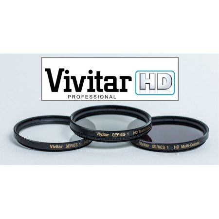 Hi Definition 62mm Polarizer (PL) UV & ND-8 Filter Set For Panasonic DC-GH5 (62mm Compatible) (Panasonic Nd Filter)