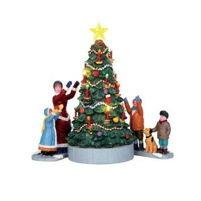 Lemax Christmas.Lemax Christmas The Village Tree Set Of 3 Walmart Com