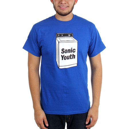 SONIC Youth Washing Machine Logo T-SHIRT