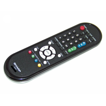 Sharp Remote Control Originally Shipped With: LC-60E78UNA, LC-60E79U, LC-60LE6300U, LC-60E78UN, LC-32SB23, LC-46LE700UN