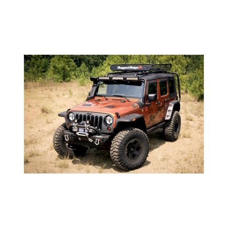 Rugged Ridge 11640.10 Fender Flares For Jeep Wrangler (JK)