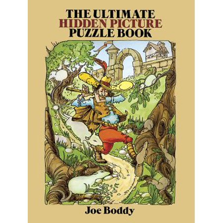 Hidden Picture Mazes (The Ultimate Hidden Picture Puzzle Book)