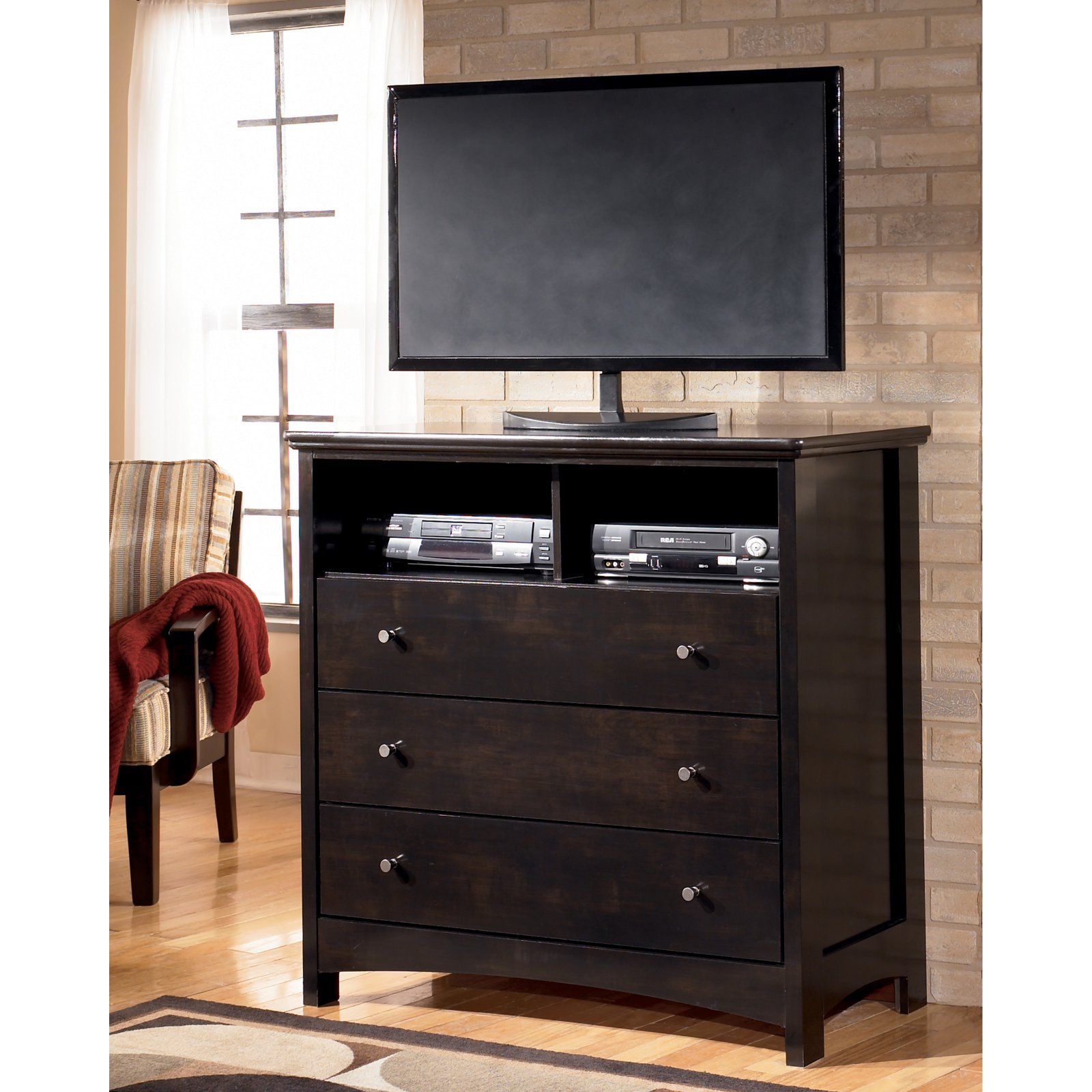 Signature Design by Ashley Harmony 3 Drawer Media Chest