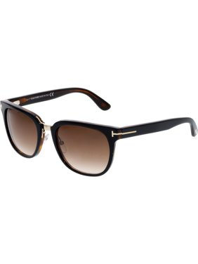 a1e1bb3ce9 Product Image Tom Ford Men s Gradient Rock FT0290-01F-55 Black Square  Sunglasses