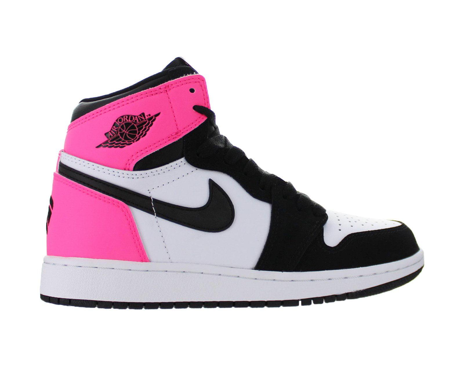 official photos e5248 a987f ... best price kids air jordan 1 retro high og gs valentines day hyper pink  black whi