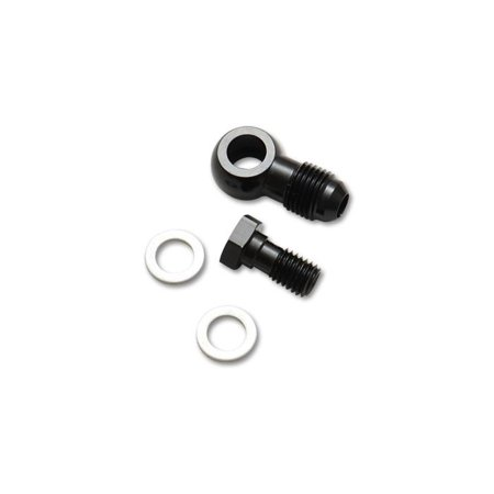 Vibrant Performance 11512 VIB11512 -4AN MALE BANJO FITTING 10MM X 1.0 METRIC; ALUMINUM + 2 WASHERS