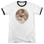 The Andy Griffith Show 1960's TV Sitcom Boys Club Adult Ringer T-Shirt Tee