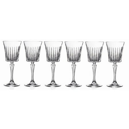 Lorren Home Trends Timeless Crystal Goblet (Set of 6)