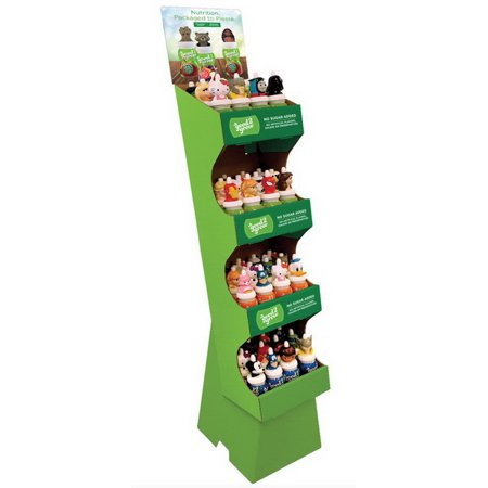 (Price/Case)Good2Grow 96048 Floor Display Containing 12 Apple 12 Fruit Punch 6 Juicy Water Fruit Punch 6 Juicy Water Grape 6 Strawberry Kiwi 6 Tropical Fruit Medley