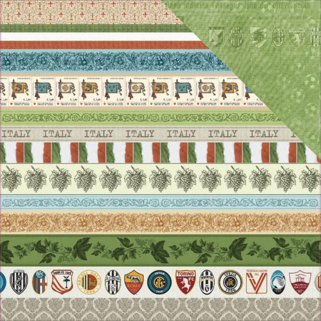 Scrapberrys Discover Italy Double Sided Cardstock 12 X12  Juventus