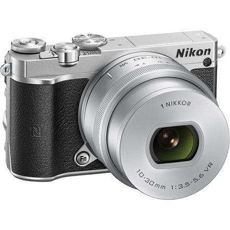 Nikon 1 J5 Kit silber + 10-30 PD-Zoom - International