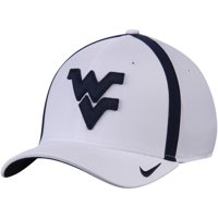 West Virginia Mountaineers Nike 2017 AeroBill Sideline Swoosh Coaches Performance Flex Hat - White