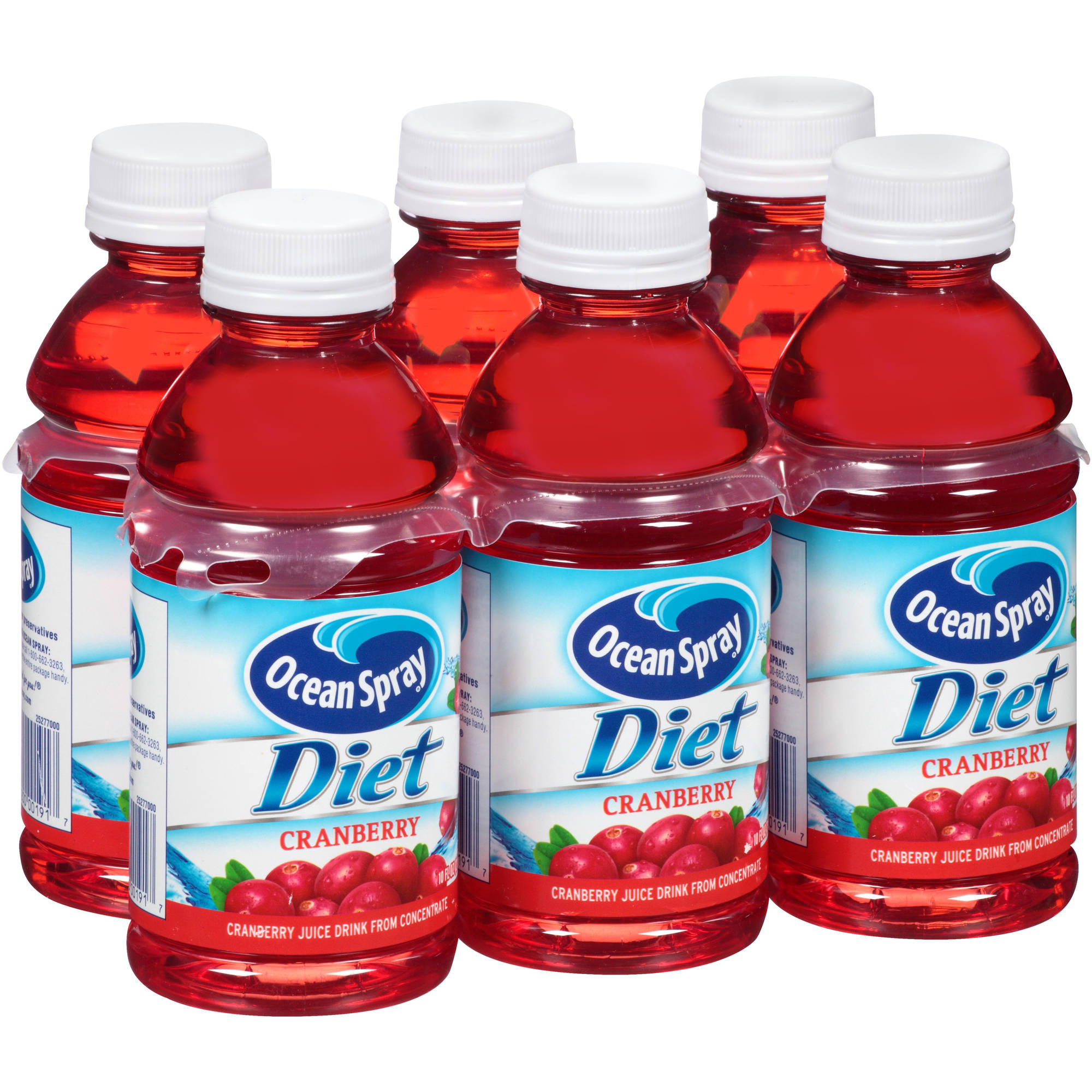 Ocean Spray Diet Cranberry Spray Juice, 6 Ct/60 Fl Oz