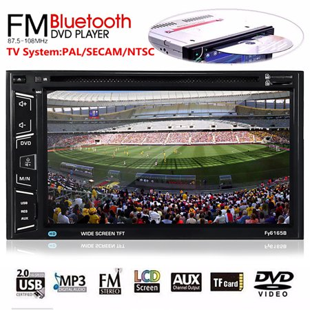 Wireless bluetooth Touch Screen HD DVD/VCD/CD Player TV Car MP5 MP3 Stereo  Audio Player 6 5