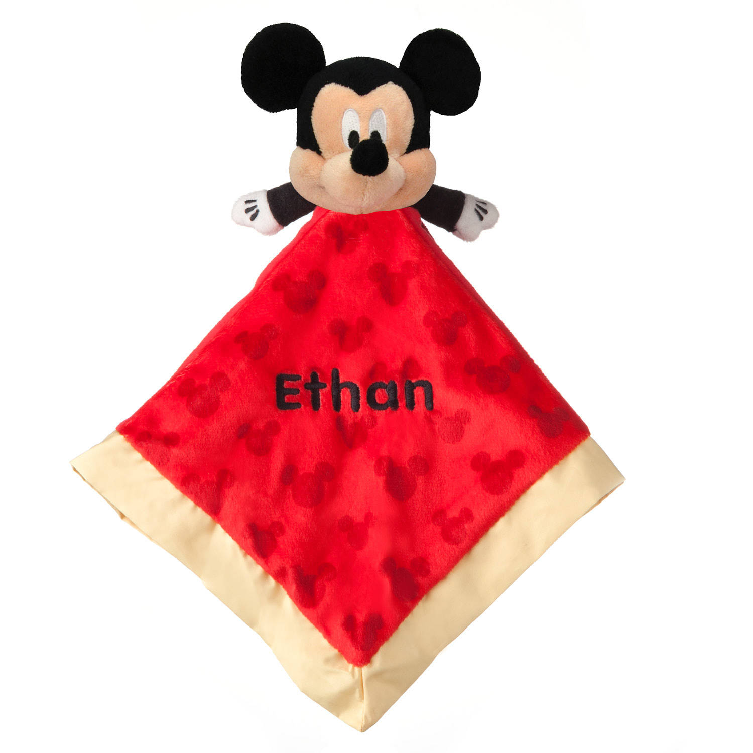 Personalized Mickey Mouse Blankey