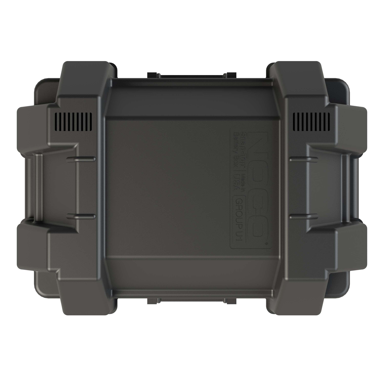 Snap Top Battery Box Group 24 Car Automotive Marine RV Boat Lock Heavy Duty
