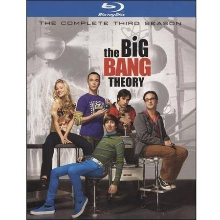 The Big Bang Theory  The Complete Third Season  Blu Ray