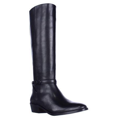 Womens Coach Caroline Tall Dress Riding Boots Black