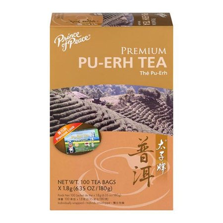 Premium Puerh Tea Prince Of Peace 100 Bag