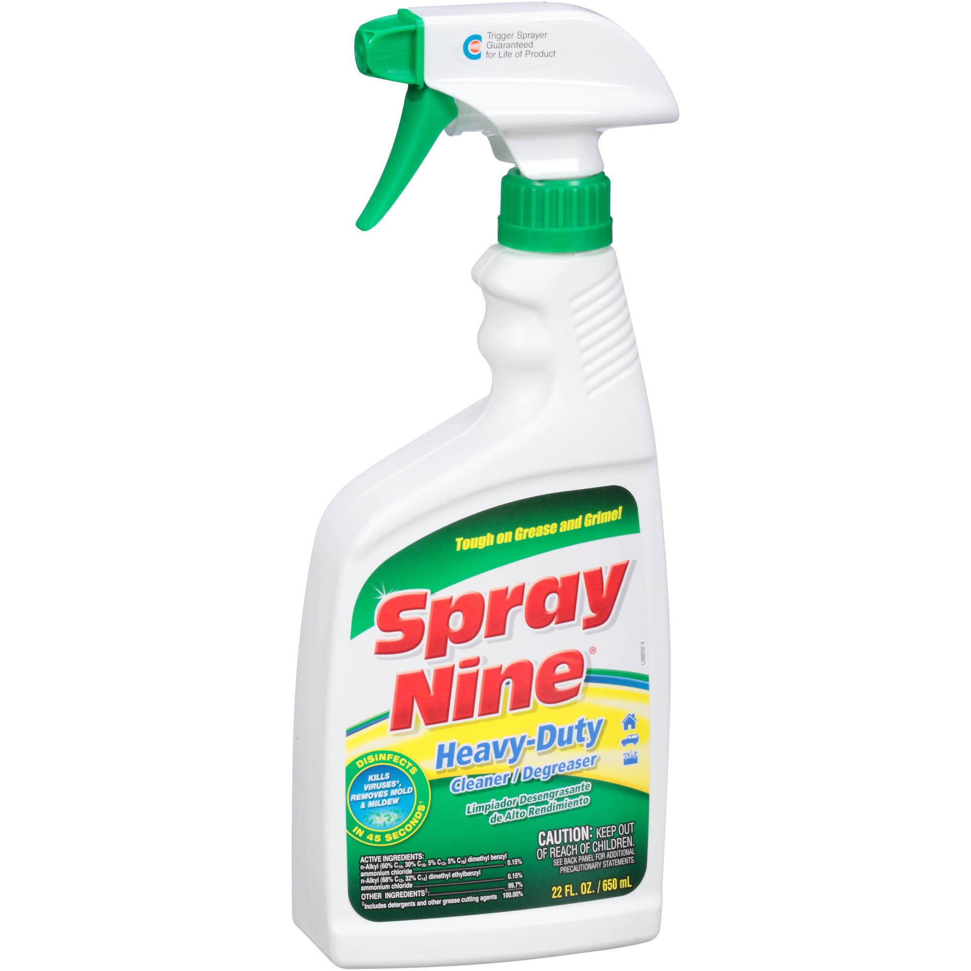Spray Nine Multi-Purpose Cleaner & Disinfectant, 22 fl oz