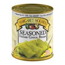 Canned Vegetables: Margaret Holmes Seasoned Italian Green Beans