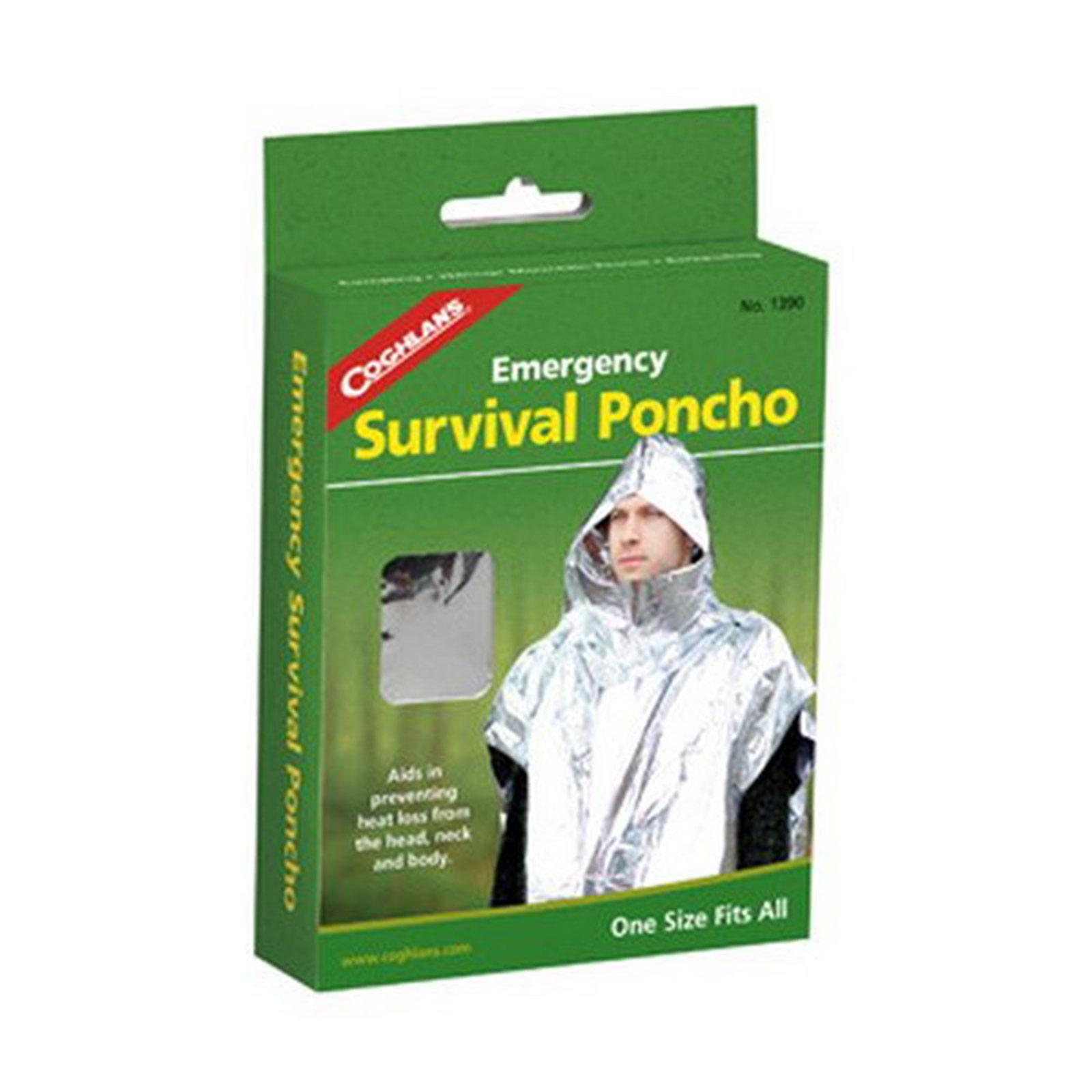Coghlan's 1390 Emergency Survival Poncho by Coghlans