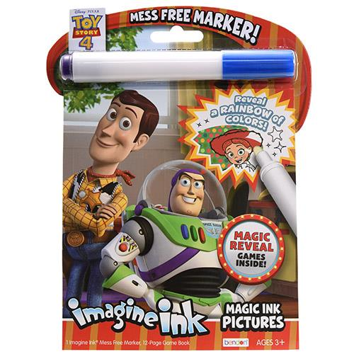 Toy Story 4 Imagine Ink Magic Ink Pictures Coloring Book - Walmart.com -  Walmart.com