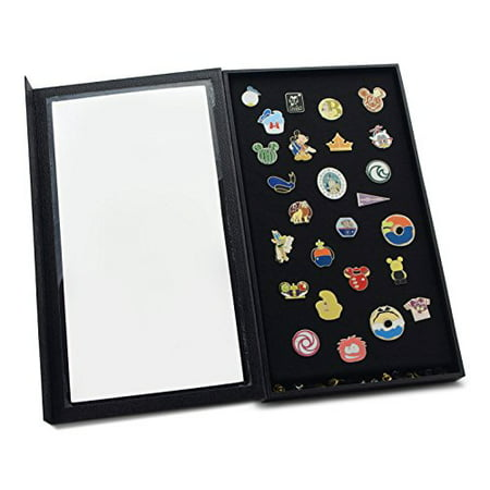 Pin Collector's Display Case - for Disney, Hard Rock, Olympic, Political Campaign & Other Collectible Pins & Medals - Holds Up to 100 Pins