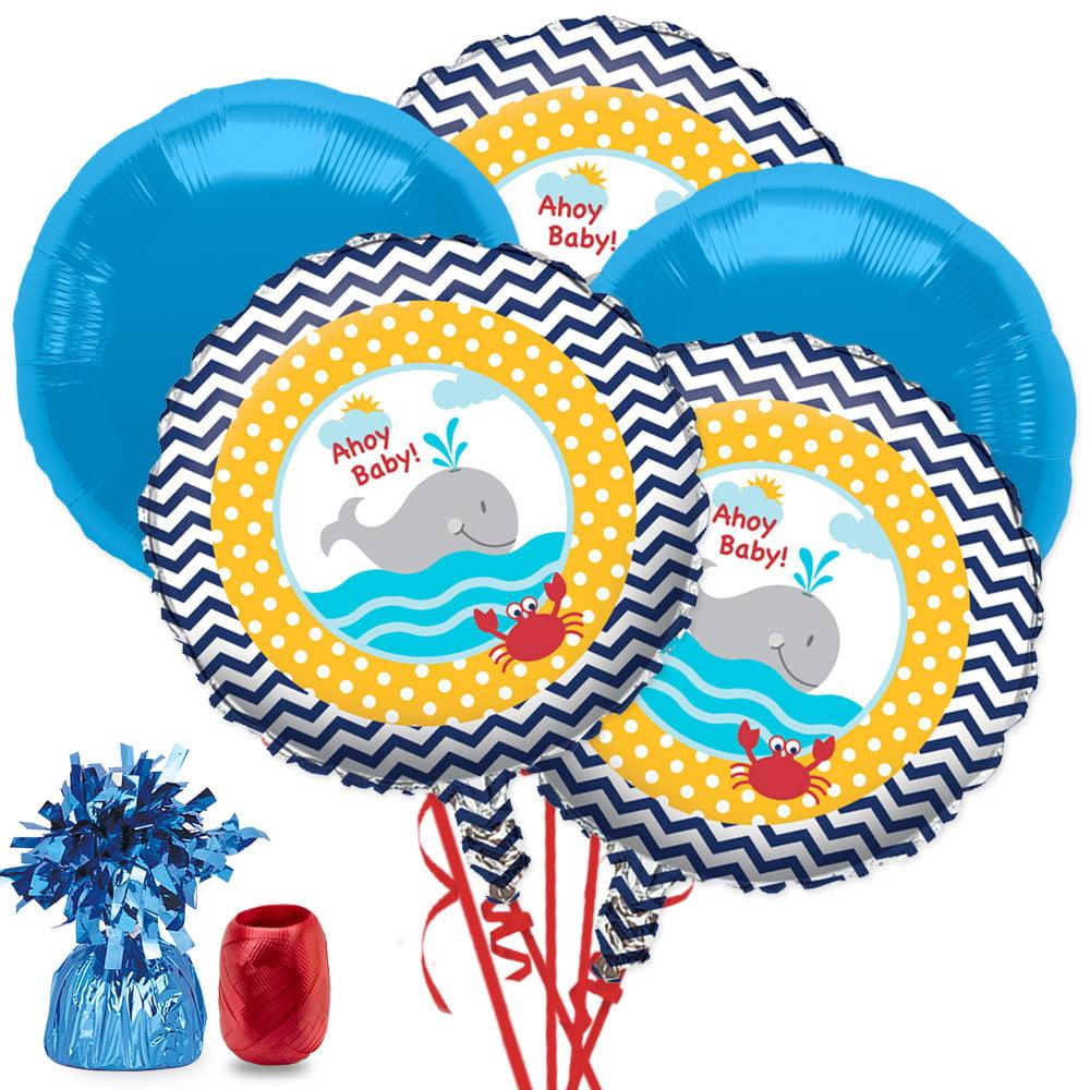 ahoy matey baby shower balloon bouquet kit  baby shower party, Baby shower invitation