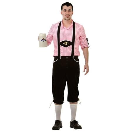 Boo! Inc. Bavarian Bundhosen Halloween Costume for Men | Oktoberfest Dress Up (Halloween Dress Up Man)