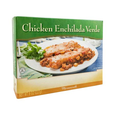 Single Serve Pizza (BariatricPal Microwavable Single Serve Protein Entree - Chicken Enchilada Verde )