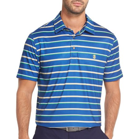 IZOD Golf Mens Double Stripe Polo Shirt ()