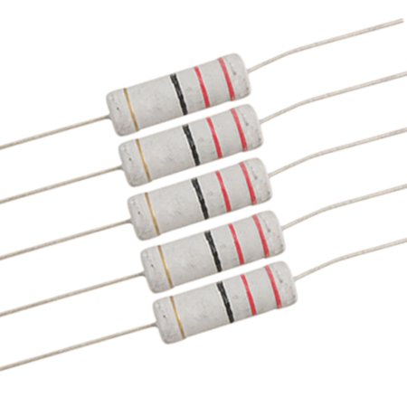 - Unique Bargains 5 Watt 22 ohm Metal Oxide Film Resistor 5W 700V 10 Pcs