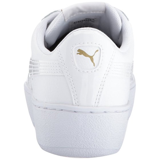 0e73987d8c32 PUMA - PUMA 364724-01   Women s Vikky Platform Leather Sneaker White (6 B(M)  US) - Walmart.com