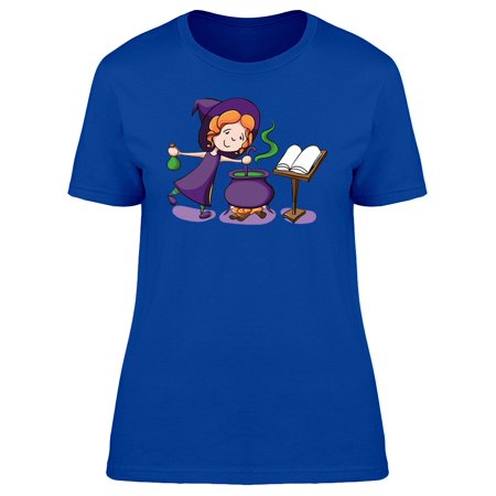Cute Witch Halloween Potion Tee Women's -Image by Shutterstock - Witch Potion Ingredients Halloween