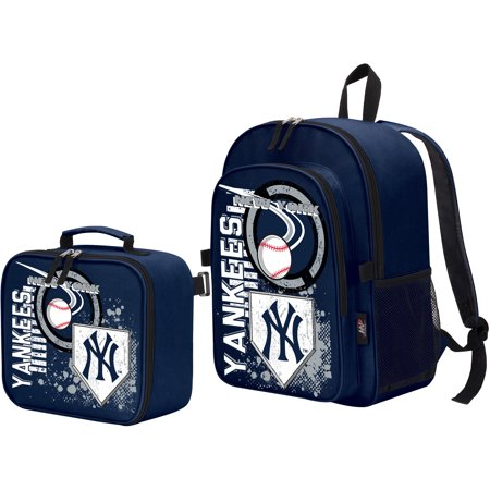 The Northwest Company New York Yankees Accelerator Backpack & Lunchbox - No - New York Yankees Bedding