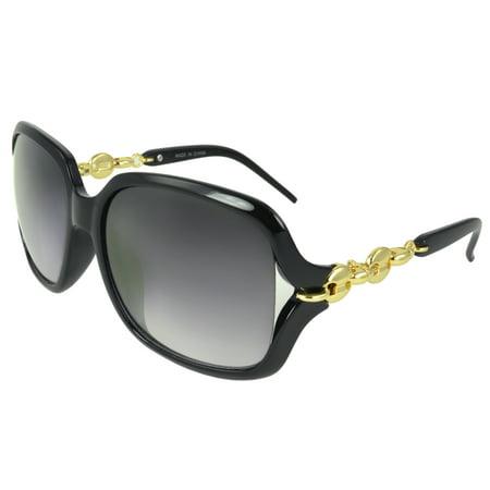 MLC Eyewear 'Luna' Shield Fashion Retro Sunglasses (Luna Eyewear)