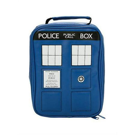 Blue Collar Tv Halloween Episode (Doctor Who TARDIS Insulated)