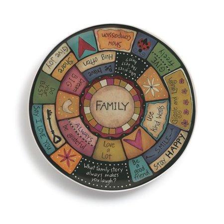 Winston Porter Gupton Family Values Chip and Dip Platter