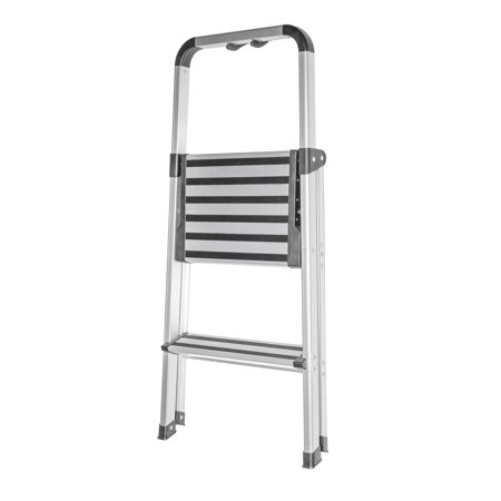 Folding Ultra Light Brush Aluminum Step Stool Ladder With