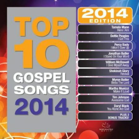 Top 10 Gospel Songs 2014 (CD)](Top Ten Halloween Songs Uk)